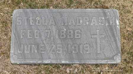 NADRASIK, STELLA - Lucas County, Ohio | STELLA NADRASIK - Ohio Gravestone Photos