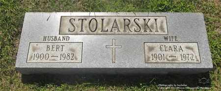 STOLARSKI, BERT - Lucas County, Ohio   BERT STOLARSKI - Ohio Gravestone Photos