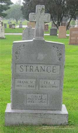STRANCE, EVA T. - Lucas County, Ohio | EVA T. STRANCE - Ohio Gravestone Photos