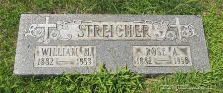 STREICHER, WILLIAM H. - Lucas County, Ohio | WILLIAM H. STREICHER - Ohio Gravestone Photos