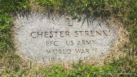 STRENKI, CHESTER - Lucas County, Ohio   CHESTER STRENKI - Ohio Gravestone Photos