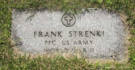 STRENKI, FRANK - Lucas County, Ohio | FRANK STRENKI - Ohio Gravestone Photos