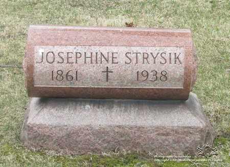 STRYSIK, JOSEPHINE - Lucas County, Ohio   JOSEPHINE STRYSIK - Ohio Gravestone Photos