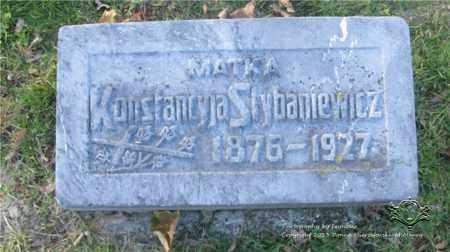 STYBANIEWICZ, KONSTANCJA - Lucas County, Ohio | KONSTANCJA STYBANIEWICZ - Ohio Gravestone Photos