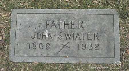 SWIATEK, JOHN - Lucas County, Ohio   JOHN SWIATEK - Ohio Gravestone Photos