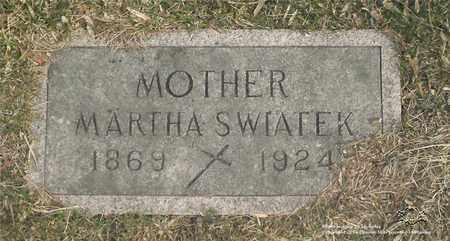 SWIATEK, MARTHA - Lucas County, Ohio | MARTHA SWIATEK - Ohio Gravestone Photos