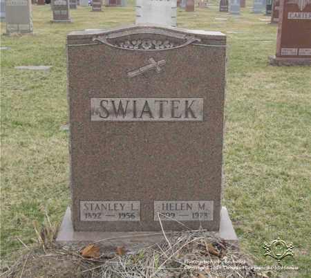 SWIATEK, STANLEY L. - Lucas County, Ohio | STANLEY L. SWIATEK - Ohio Gravestone Photos