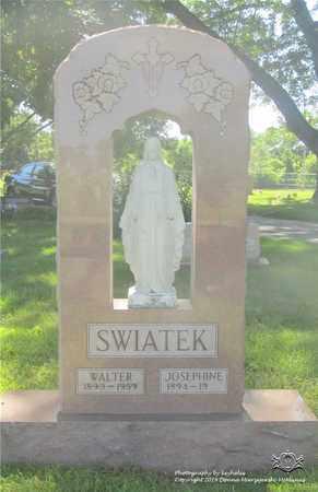 SWIATEK, WALTER - Lucas County, Ohio | WALTER SWIATEK - Ohio Gravestone Photos