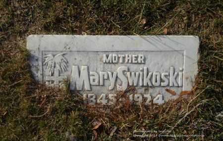 SWYKOWSKI, MARY - Lucas County, Ohio | MARY SWYKOWSKI - Ohio Gravestone Photos