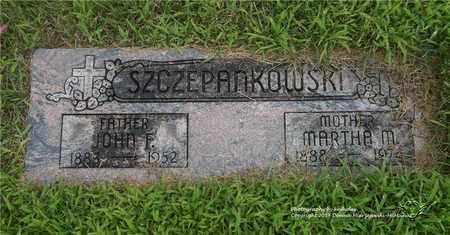 SZCZEPANKOWSKI, JOHN F. - Lucas County, Ohio | JOHN F. SZCZEPANKOWSKI - Ohio Gravestone Photos