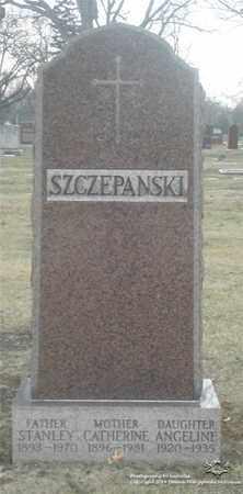 SZCZEPANSKI, CATHERINE - Lucas County, Ohio | CATHERINE SZCZEPANSKI - Ohio Gravestone Photos