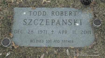 SZCZEPANSKI, TODD ROBERT - Lucas County, Ohio   TODD ROBERT SZCZEPANSKI - Ohio Gravestone Photos