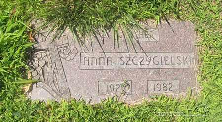 SZCZYGIELSKI, ANNA - Lucas County, Ohio   ANNA SZCZYGIELSKI - Ohio Gravestone Photos