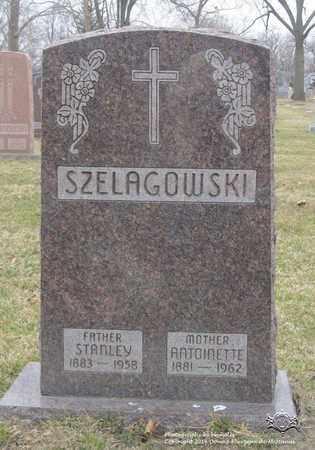 SZELAGOWSKI, ANTOINETTE - Lucas County, Ohio | ANTOINETTE SZELAGOWSKI - Ohio Gravestone Photos