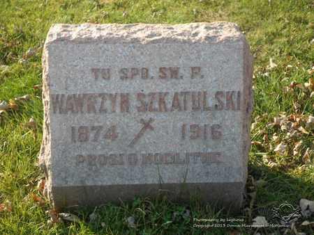 SZKATULSKI, WAWRZYN - Lucas County, Ohio   WAWRZYN SZKATULSKI - Ohio Gravestone Photos