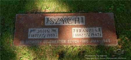 SZYCH, FRANCES - Lucas County, Ohio   FRANCES SZYCH - Ohio Gravestone Photos