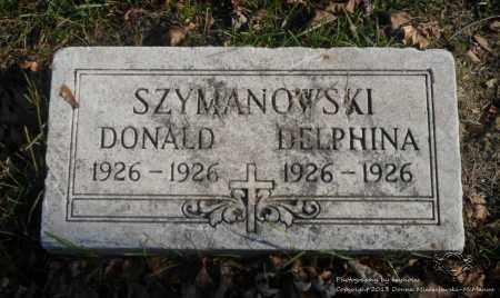 SZYMANOWSKI, DELPHINA - Lucas County, Ohio | DELPHINA SZYMANOWSKI - Ohio Gravestone Photos