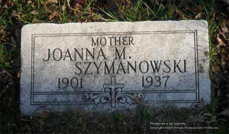 SZYMANOWSKI, JOANNA M. - Lucas County, Ohio   JOANNA M. SZYMANOWSKI - Ohio Gravestone Photos