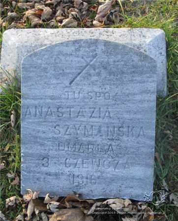 SZYMANSKA, ANASTAZIA - Lucas County, Ohio   ANASTAZIA SZYMANSKA - Ohio Gravestone Photos