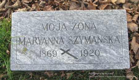 SZYMANSKA, MARYANNA - Lucas County, Ohio | MARYANNA SZYMANSKA - Ohio Gravestone Photos