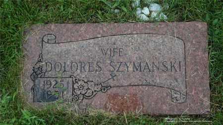 CZERNIAK SZYMANSKI, DELORES - Lucas County, Ohio   DELORES CZERNIAK SZYMANSKI - Ohio Gravestone Photos