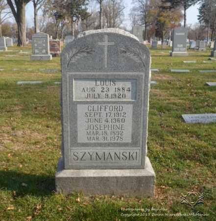 SZYMANSKI, CLIFFORD - Lucas County, Ohio   CLIFFORD SZYMANSKI - Ohio Gravestone Photos