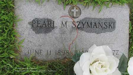 SZYMANSKI, PEARL M. - Lucas County, Ohio | PEARL M. SZYMANSKI - Ohio Gravestone Photos