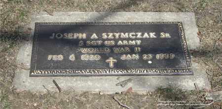 SZYMCZAK, JOSEPH A. - Lucas County, Ohio | JOSEPH A. SZYMCZAK - Ohio Gravestone Photos
