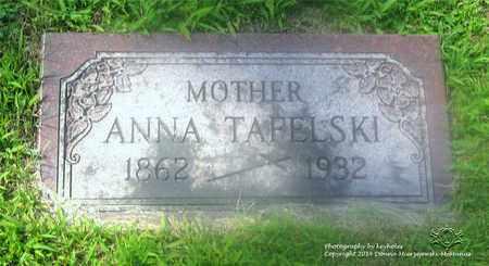 TAFELSKI, ANNA - Lucas County, Ohio | ANNA TAFELSKI - Ohio Gravestone Photos