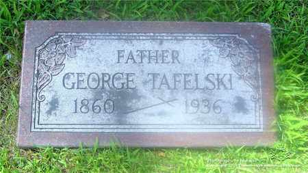 TAFELSKI, GEORGE - Lucas County, Ohio | GEORGE TAFELSKI - Ohio Gravestone Photos
