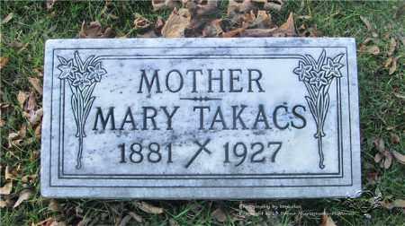 TAKACS, MARY - Lucas County, Ohio | MARY TAKACS - Ohio Gravestone Photos
