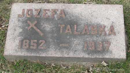 TALASKA, JOZEFA - Lucas County, Ohio | JOZEFA TALASKA - Ohio Gravestone Photos