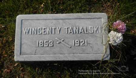 TANALSKI, WICENTY - Lucas County, Ohio | WICENTY TANALSKI - Ohio Gravestone Photos
