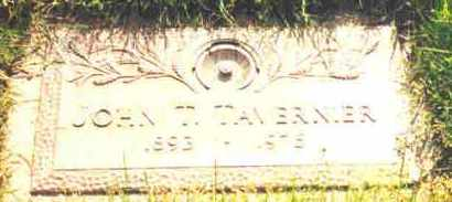 TAVERNER, JOHN T. - Lucas County, Ohio | JOHN T. TAVERNER - Ohio Gravestone Photos