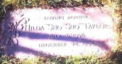 HARVEY TAYLOR, HILDA F. - Lucas County, Ohio | HILDA F. HARVEY TAYLOR - Ohio Gravestone Photos