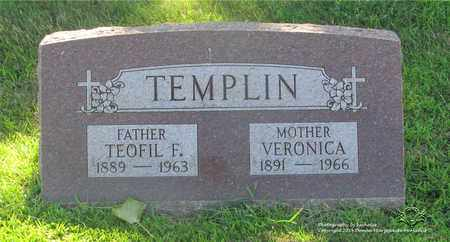 TEMPLIN, VERONICA - Lucas County, Ohio | VERONICA TEMPLIN - Ohio Gravestone Photos