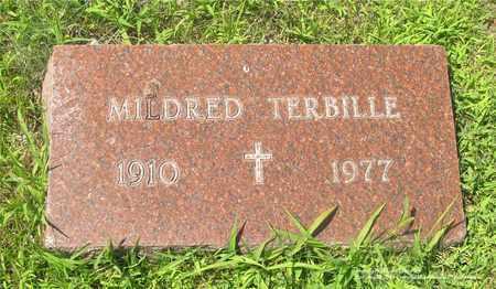 TERBILLE, MILDRED - Lucas County, Ohio | MILDRED TERBILLE - Ohio Gravestone Photos