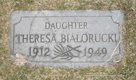 BIALORUCKI, THERESA - Lucas County, Ohio | THERESA BIALORUCKI - Ohio Gravestone Photos