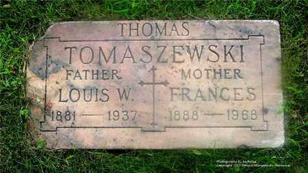 THOMAS, FRANCES - Lucas County, Ohio | FRANCES THOMAS - Ohio Gravestone Photos