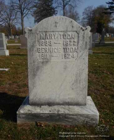 TODA, MARY - Lucas County, Ohio | MARY TODA - Ohio Gravestone Photos