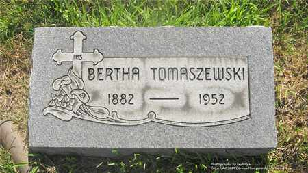 TOMASZEWSKI, BERTHA - Lucas County, Ohio | BERTHA TOMASZEWSKI - Ohio Gravestone Photos