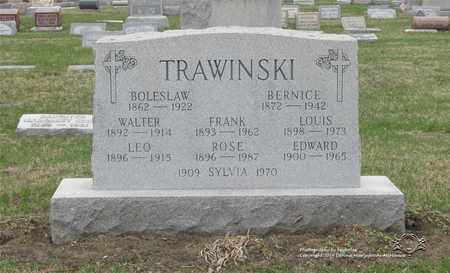 TRAWINSKI, LOUIS - Lucas County, Ohio | LOUIS TRAWINSKI - Ohio Gravestone Photos