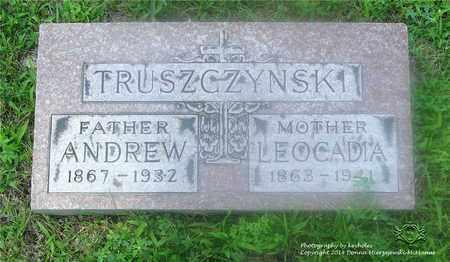 TRUSZCZYNSKI, ANDREW - Lucas County, Ohio   ANDREW TRUSZCZYNSKI - Ohio Gravestone Photos