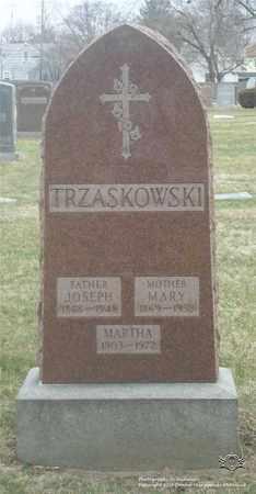 TRZASKOWSKI, MARY - Lucas County, Ohio | MARY TRZASKOWSKI - Ohio Gravestone Photos