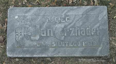 TRZNADEL, JAN - Lucas County, Ohio   JAN TRZNADEL - Ohio Gravestone Photos