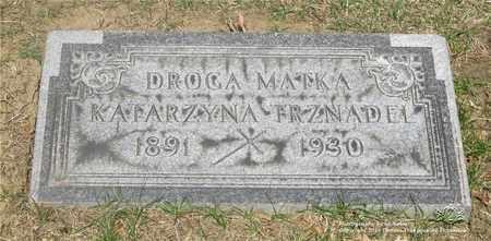 KANIA TRZNADEL, KATARZYNA - Lucas County, Ohio   KATARZYNA KANIA TRZNADEL - Ohio Gravestone Photos