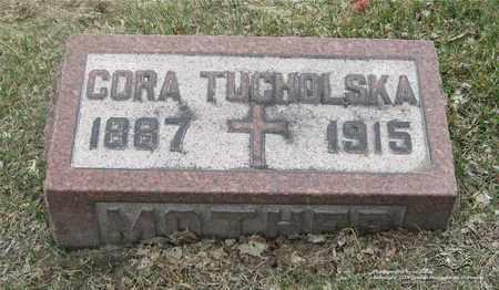 LEONHARDT TUCHOLSKA, CORA - Lucas County, Ohio | CORA LEONHARDT TUCHOLSKA - Ohio Gravestone Photos