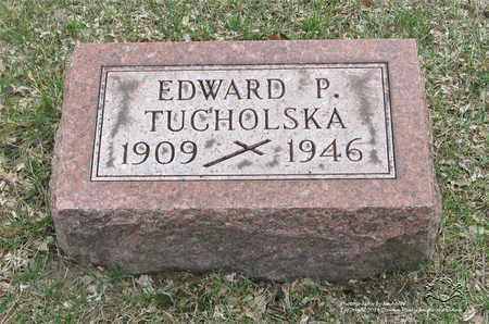 TUCHOLSKA, EDWARD P. - Lucas County, Ohio | EDWARD P. TUCHOLSKA - Ohio Gravestone Photos