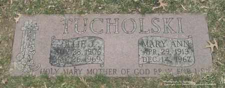 TUCHOLSKI, OLLIE J. - Lucas County, Ohio | OLLIE J. TUCHOLSKI - Ohio Gravestone Photos