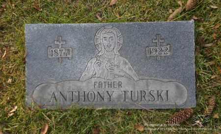 TURSKI, ANTHONY - Lucas County, Ohio | ANTHONY TURSKI - Ohio Gravestone Photos